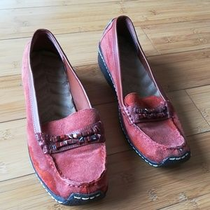 FREE Jewelled Suede Moccasins